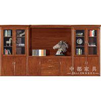 广东中都家具供应ZD-WJ03中式原木色七门文件柜