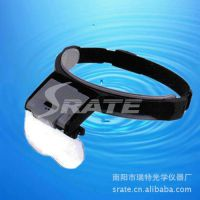 多倍率 Helmet Magnifying Glass 带LED灯头盔放大镜 MG81001-B1
