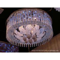 古镇厂家书房圆形吊灯低压灯 餐厅卧室LED吸顶灯 华美灯具6631