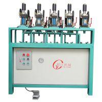 湖南银江机械不锈钢门生产设备、不锈钢门框成型机,门锁孔机、门花设备125缸(3-1)