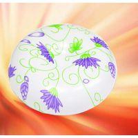 紫锦图案圆形吸顶灯 LED走廊玄关吸顶灯卧室客厅灯