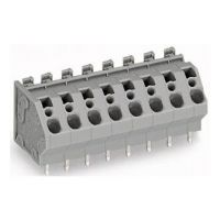 KTON 免螺丝端子台弹簧式PCB端子5.0/7.5间距 弹簧接线端子
