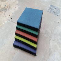 柏克厂家批发室外儿童安全地板 幼儿园防滑橡胶地垫 彩色橡胶运动地胶铺设