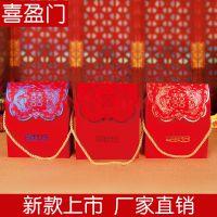 个性定制婚庆用品结婚喜糖盒子创意婚礼礼品糖果盒烫金回礼包装盒