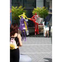 抽象人物雕塑/玻璃钢雕塑厂家/人物雕塑定制价格
