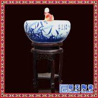 陶瓷流水喷泉加湿器招财摆件客厅家居风水轮鱼缸办公室桌盆景