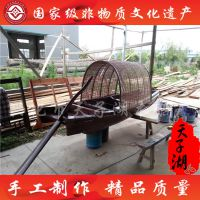厂家专业定制2.5米装饰乌篷船 景观木船 乌镇绍兴风格 小木船 尺寸可定制