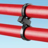 PLB4H-TL0,PLB2S/3S-M0/C0_泛达耐候尼龙双回路电缆扎带