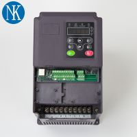 供应15KW卷扬机专用三相普通电机变频调速器 上海能垦三相矢量变频器