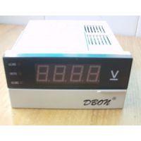 交流数显电压表XL4-PAV直流电压表XL4-PDV上下限报警仪表