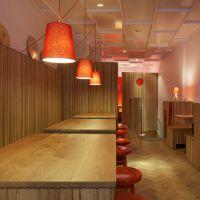 石家庄中式快餐饭店的装修设计