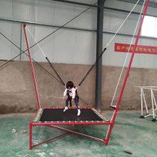 心悦供应折叠式儿童钢架小蹦极床,云南个旧广场上小孩儿玩的钢架蹦蹦床价格2X2X4