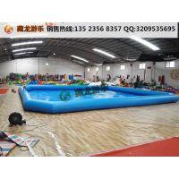 80平米的移动游泳池什么报价 夏天孩子在小区门口玩的水池哪买 气垫泳池