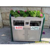 振兴专业生产广告垃圾箱/ 不锈钢分类垃圾箱/户外环卫设施