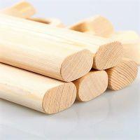 奇晟木艺 大量现货供应 香樟木衣柜挂衣杆 规格齐全 可批发定制
