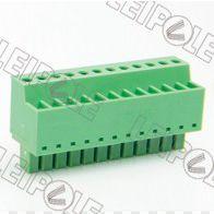 供应特供 总代理上海雷普LEIPOLE线路板端子系列-插拔式接线端子PCB端子 15ELPKC-3.81