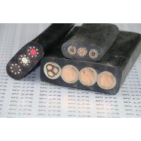 YBFG橡胶扁电缆钢丝加强型_双钢丝橡胶扁电缆_厂家直销