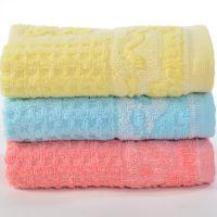【童巾】供应竹纤维印花儿童毛巾 高阳童巾厂家批发卡通童巾