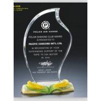 西安水晶奖牌定制定做 阿法瓷奖牌 免费刻字 单位活动纪念奖