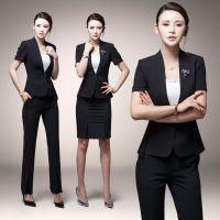 京港博昂服饰,女办公西服套装定做,商务装,西服,定做