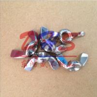 广东佛山不锈钢螺母 东鸿盛304蝶形螺母 羊角螺帽 元宝 手拧 V型母 碟帽