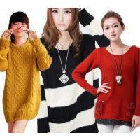 江苏毛衣批发市场哪里有新款女士打底衫 摆地摊低价羊毛衫韩版货源直销