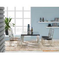 不锈钢家具 不锈钢餐桌 不锈钢餐台 时尚餐台