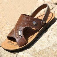 男凉鞋正品夏季新款真皮凉鞋男休闲凉皮鞋男沙滩鞋男特价批发代发