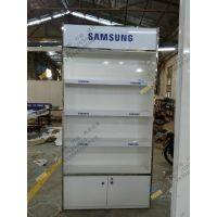 方便挂钩式华为手机配件柜,木质烤漆手机配件柜定制