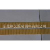 【银艺织带】大量生产色泽亮丽纹路优美的鱼丝螺纹松紧带