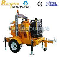 工厂直销上海瑞营拖车式柴油机移动泵站RY-P300-14