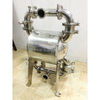 供应卫生级隔膜泵 气动隔膜泵 不锈钢隔膜泵