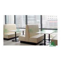 罗湖人才市场厂家直销定做中式快餐店 奶茶店卡座沙发 甜品店沙发