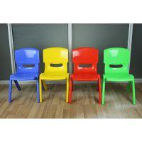 全新塑料安全靠背桌椅子加厚儿童凳宝宝小凳子幼儿园专用批发