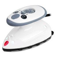 缝纫拼布工具 家用商用便携式旅行干湿迷你蒸汽熨斗 白色IQ-2100W
