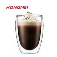 双层玻璃杯子 咖啡杯 高硼硅玻璃耐高温 质优价廉