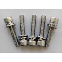 DIN912内六角圆头带垫组合螺丝厂家直销不锈钢M8*40