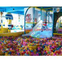 重庆儿童乐园淘气堡室内互动投影大滑梯