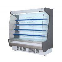 蓝诺立式连体机组2米敞开式风幕柜 水果/蔬菜冷藏展示柜FB-2000F
