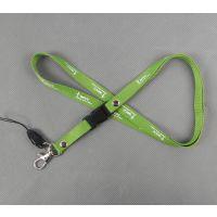 供应儿童专用安全胸牌卡挂绳 定做彩色pvc拉链手机绳