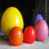 程爵玻璃钢雕塑厂家供应复活节彩蛋雕塑摆件