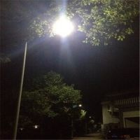 郴州足球场灯杆灯具供应商 12米分两节式高杆灯 套管或用螺纹承接