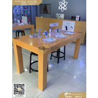 专卖店苹果木纹体验台 现今流行的木纹苹果体验桌图片 苹果手机体验台价格