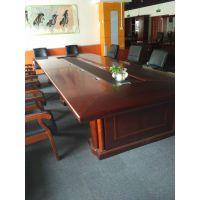 会议桌大班台 老板桌培训洽谈现代职员办公桌