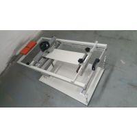 力沃新型丝网印刷手印台 手动丝印机 圆面丝印机