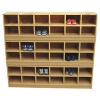 幼儿园实木鞋柜、玩具柜、书包柜等家具大林宝宝厂家加工定制