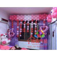 你没有见过婚房布置气球装饰很多人都想的婚房装饰