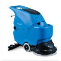 容恩R50电线式洗地机|工厂地面吸干机酒店保洁手推式自动洗地机
