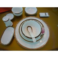 苏州酒店紫砂餐具 10寸中国牛平盘盖杯炖盅 配套酒店用品