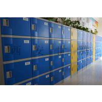浙江浴室彩色存包柜 浴室ABS塑料更衣柜 健身房防水储物柜